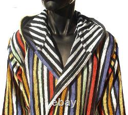 Missoni Home Bath Robe Unisex Rily 160 Small100% Cotton Double Face Petrol Free