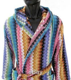 Missoni Home Hood Bath Robe Ralph 100 Lilium Multicolor Collection Unisex