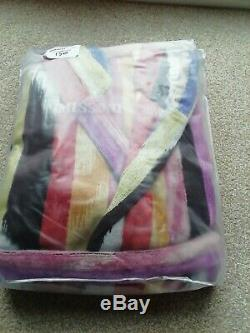 Missoni Hooded HOMER Bathrobe/Dressing Gown Size Small Bnwt