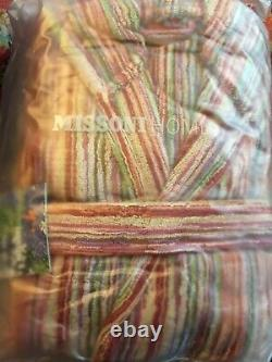 Missoni bathrobe dressing gown BNWT size M FAST FREE TRACKED DELIVERY