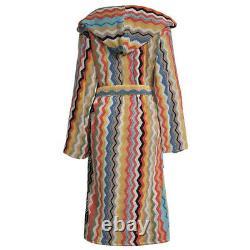 Missoni bathrobe with hood for men / women YANCY terry