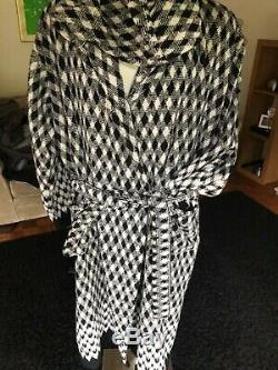 Missoni home jazz bath robe dressing gown gym robe mens large hooded £235
