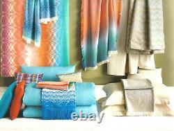 Missonihome Bath Robe Tamara 100 Cotton Velour Geranium Collection S M L