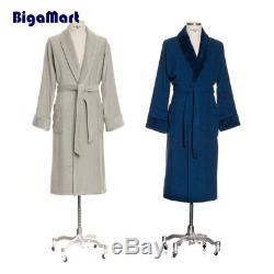 Möve Bamboo Luxe 275240827823 S Light Grey Bath Robe Shawl Collar Small