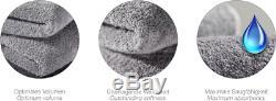 Möve Hooded Bathrobe, 100%-cotton, Stone, L