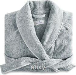 NEW $300 Matouk Cairo Egyptian Cotton Small Bath Robe Pool/Pool