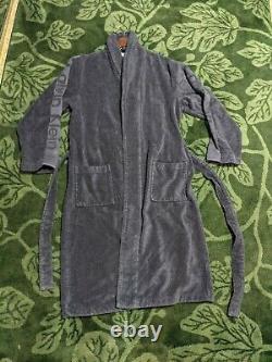 NEW Calvin Klein Blue Luxury Bath Robe S/M