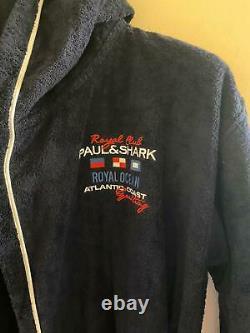 NEW Paul & Shark Jacket Bathrobe Accappatoio Swimm Giacca Uomo Men 3XL Like 4XL