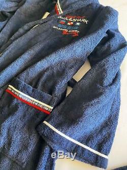 NEW Paul & Shark Jacket Bathrobe Accappatoio Swimm Giacca Uomo Men 4XL Like 5XL