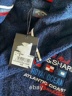 NEW Paul & Shark Jacket Bathrobe Accappatoio Swimm Giacca Uomo Men M (Like L)