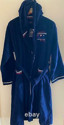 NEW Paul & Shark Jacket Bathrobe Accappatoio Swimm Giacca Uomo Men XL like 2XL
