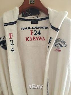 NEW Paul & Shark Jacket Bathrobe Accappatoio Swimm Men L KIPAWA