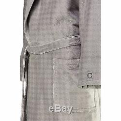 NEW cawö MEN'S BATHROBE ROBE SAUNA Coat Graphite 1716 779