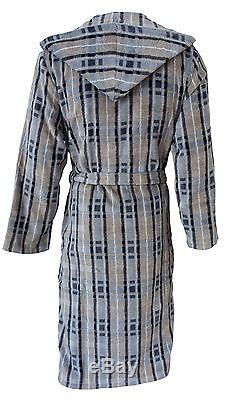 NEW cawö MEN'S BATHROBE SAUNA Coat Walk Suede Quality 2604/37