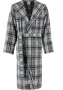 NEW cawö MEN'S BATHROBE SAUNA Coat Walk Suede Quality 2604/77