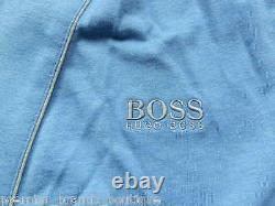 New Hugo Boss Blue Jedi Night Bath Wear Dressing Gown Robe Medium
