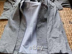 New Hugo Boss Mens Grey Night Wear Jedi Bath Knight Dressing Gown Robe Medium M