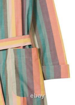 PAUL SMITH Artist Stripe Dressing Gown & Bath Robe EXTRA LARGE (XL)