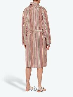 PAUL SMITH Dressing Gown -BNWT Signature Multi Stripe Bath Robe Sz XL