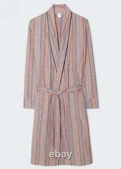PAUL SMITH Dressing Gown -BNWT Signature Multi Stripe Bath Robe Sz XL RRP £240