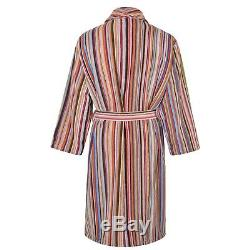 PAUL SMITH Signature Multi Stripe Dressing Gown/Bath Robe Medium