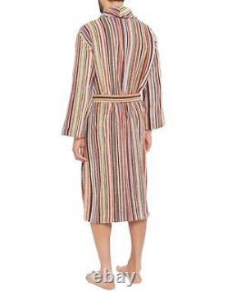 PAUL SMITH Signature Multi Stripe Dressing Gown/Bath Robe SMALL
