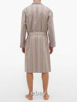 PAUL SMITH Signature Stripe Dressing Gown Bath Robe MEDIUM (M)
