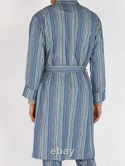 PAUL SMITH Signature Stripe Dressing Gown Bath Robe MEDIUM Mainline Collection