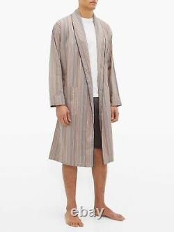 PAUL SMITH Signature Stripe Dressing Gown Bath Robe SMALL (S)