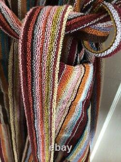 PAUL SMITH Signature Stripe Dressing Gown Bath Robe Small Permanent Collection