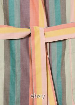 Paul Smith Dressing Gown -BNWT Signature Artist Multi Stripe Bath Robe RRP £130