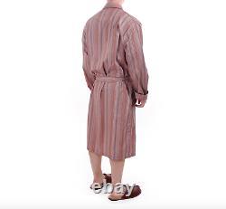 Paul Smith Dressing Gown BNWT Signature Multi Stripe Bath Robe Size Small