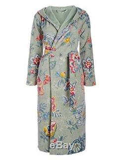 Pip Studio berry bird terry cloth bath robe, dressing gown, house coat with XXL