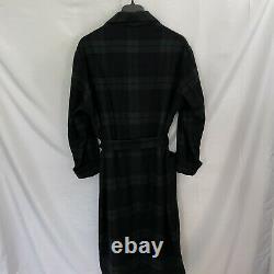 Polo Ralph Lauren 100% Cashmere Bathrobe Robe Plaid Mens L/XL RARE