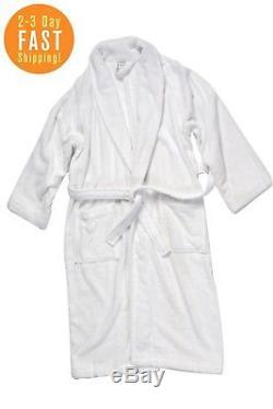 Premium Terry Luxury Cotton Cloth Bathrobe Plush Spa Robes for Men and Women