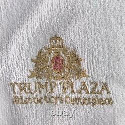 RARE Trump Plaza Atlantic City Hotel Casino Resort Luxury Bath Robe Adult OSFA