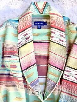 Ralph Lauren Vintage Southwestern Indian Blanket Bathrobe Size XS/S