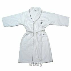 Rare Limited Edition Harry Winston White Embroidery Marylin Monroe Bath Robe
