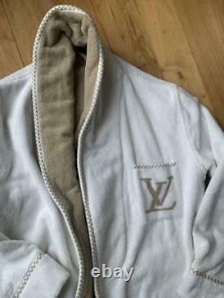 Rare Louis Vuitton Bathrobe LV Logo Size M