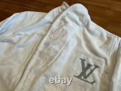 Rare Unused Louis Vuitton LV Logo Bathrobe Size L