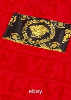 Red I BAROQUE BATHROBE (Size L)