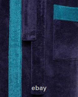 Revise RE-855 Men's Bathrobe with Bamboo Fiber Towel -Sauna Pool Dark