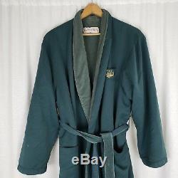 Sagamore Resort Microfiber Lounge Tie Wrap Bath Robe Mens Adult size L RobeWorks