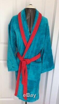 Sale Mens Womans Unisex Moschino Bath Robe Velour Toweling Dressing Gown