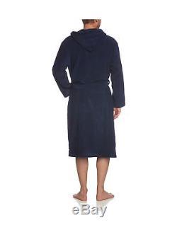 Schiesser Men's Bathrobe Blue Blau (815-navy) XXL/54