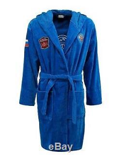 Soft bathrobe Forward Russia team cotton 100% mens