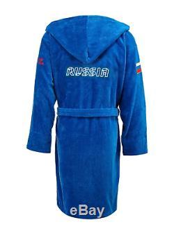 Soft bathrobe Forward Russia team cotton 100% mens size M