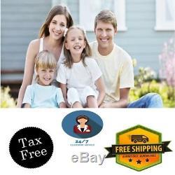 Terry Bathrobe for Women Men Size Small/Medium White/Black Cotton Waffle Spa New
