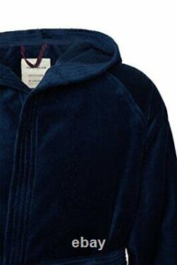 Tom Tailor 110401/900/700 basic velours bath robe with hood