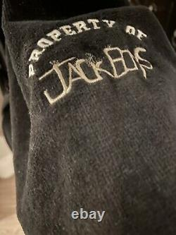 Travis Scott Jackboys Bathrobe/black/size MEDIUM